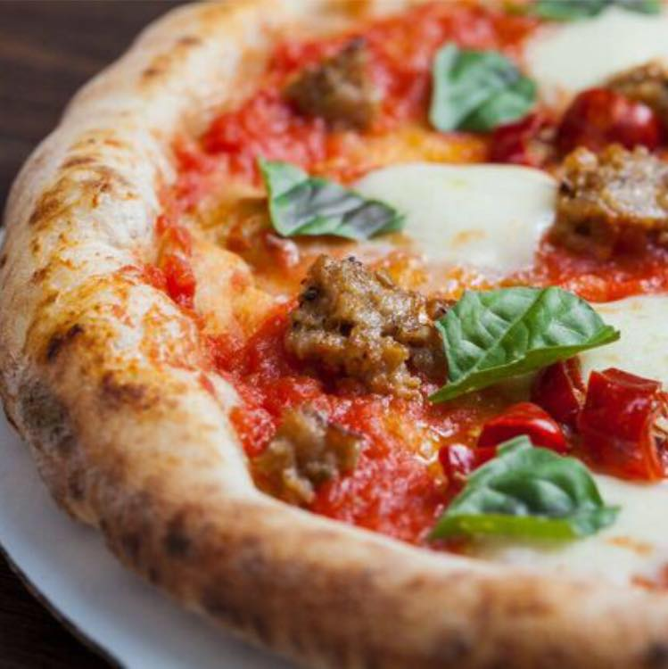 Artisanal pizza crust by Criscito Pizza